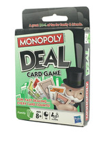 Monopoly Deal Card Game Parker Brothers Hasbro - NEW - FREE SHIPPING!! A... - $16.99