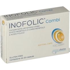INOFOLIC COMBI 30 caps.Myo-Inositol, D-chiro-inositol+ Folic Acid