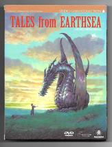 Tales of Earthsea DVD Studio Ghibli Miyasaki 2-Disc Ltd Ed. Zone 4 AS NEW - $28.95