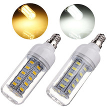 E12 7W 650LM White/Warm White 5730 SMD 36 LED Corn Light Bulb 110V - $9.38