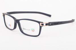 Tag Heuer 7604 008 Track Shiny Black Eyeglasses 7604-008 56mm - $244.02