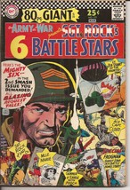 DC Our Army At War #177 Sgt Rock 80 pg Giant Battle Stars Mlle Marie Gun... - $9.95