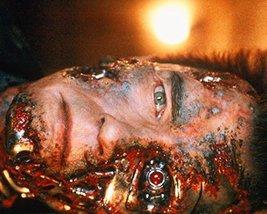 Arnold Schwarzenegger in The Terminator with damaged face cyborg eye - $69.99
