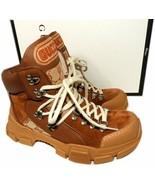 Gucci Flashtrek Sneakers Hiking Leather & Original GG Trekking Boots Sho... - $599.00