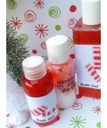 peppermint bath set, peppermint shower gels - $18.00