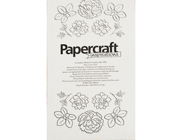 Immediate Media Company Stamp & Layer Peonies & Orchids Stamp Set #151216 image 2