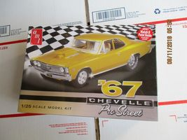 AMT 1967 Chevelle Pro Street 1/25 scale - $35.99