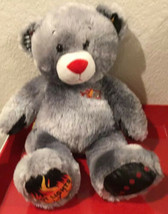 "Build a Bear 17"" Plush Gray Bear Hot Lights Skechers With Sound Ears Fla... - $40.00"