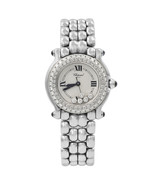Chopard Happy Sport Steel Floating Diamonds Dial Ladies Quartz Watch 27/... - $6,696.61