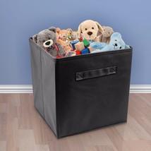 Cube Fabric Folding Storage Bins For Books Underwear Bra Socks Clothes O... - $21.66 CAD