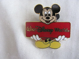Disney trading pins 374: walt world-mickey sarcophagus red sign (white eyes - $7.22