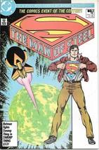 The Man of Steel Comic Book #1 Superman DC 1986 VERY FINE- - $4.50