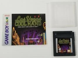 MI) Las Vegas Cool Hand (Nintendo Game Boy Color, 1998) Video Game Tested - $7.91