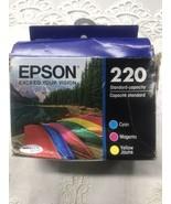 Epson 220 Color Combination Ink Cartridges, Standard, 3/Pack - $18.76
