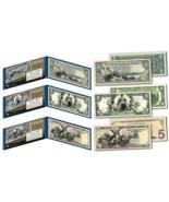 1890's EDUCATIONAL SERIES Neoclassical NEW Legal Tender Bills $1-$2-$5 *... - €44,51 EUR