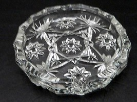 "EAPC Star of David Anchor Hocking 7 1/2"" Large Ashtray Early American Pr... - $14.84"