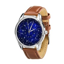 Constellation Astrology Zodiac Wristwatch Men Women watch Christmas Gift - $39.99