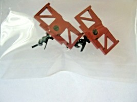 Trainworx Stock #620-Red Body Mount Coupler Precision Masters/Red Caboose image 1