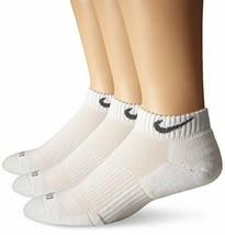 Nike Unisex 3PK Dri-FIT Cushion No Show Low Cut Socks X-Large SX4829-101 - $24.99