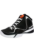 Reebok Men's Black/White Pumpspective Basketball Shoe, Size US 8 - $89.09