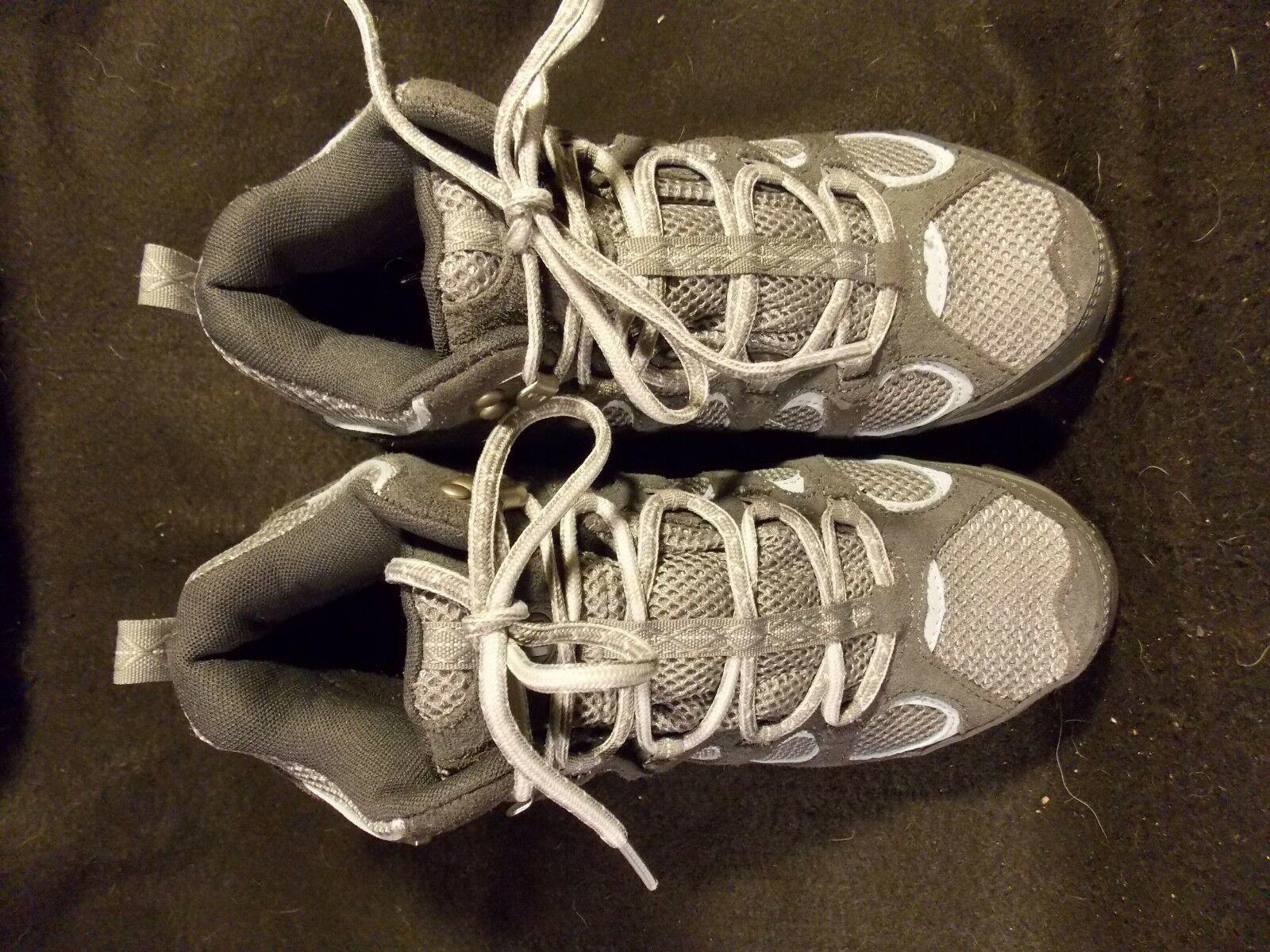 Women's Merrell Hilltop Vent Waterproof Castle Rock Gray Hiking Shoes Size 6 image 7
