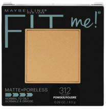 Maybelline New York Fit Me Matte + Poreless Powder Makeup, Golden BNIB - $8.72