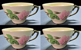 Four Franciscan Desert Rose Coffee Cups - $12.00
