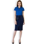 Rider Republic Women's Blue Flare Pleated Skater Skirt  - $36.00