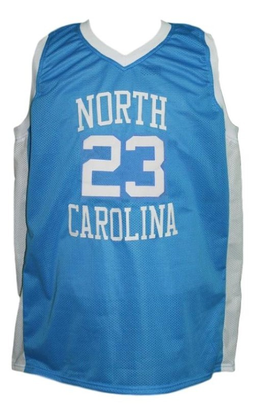 Michael Jordan #23 College Basketball Jersey Sewn Blue Any Size