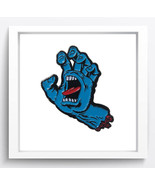 "Cartoon Art"" Screaming Hand ""Oil Painting Print On Canvas Decor Art Unfr... - $12.09+"