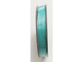 "Hobby Lobby Ribbon Boutique Sheer Aqua Organza Ribbon, 1/4"" x 18 Ft"