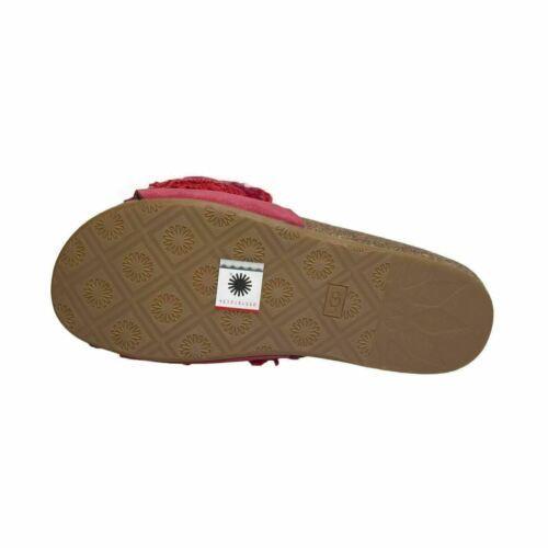 5c03e8565ca Ugg Cindi Ribbon Red Slide Yarn Fringe and 50 similar items