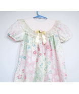 Girls Toddler Dress Flowers and Lace Size 4T  - $14.00
