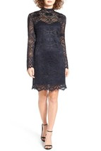 WAYF Monroe Lace Shift Dress SZ XS Navy - $56.95