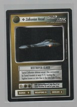 Zalkonian Vessel - Star Trek: Next Generation CCG - Ship - Decipher Games. - $1.72