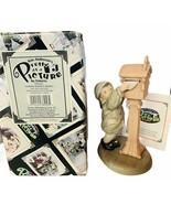 Pretty as Picture Kim Anderson figurine vtg NIB box Sending Warmest wish... - $48.33