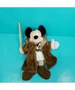 "Mickey Mouse Star Wars Jedi Warrior Disneyland Plush Stuffed Lightsaber 10"" - $19.79"