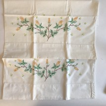 Beautiful Vintage Yellow Rose Pillow Cases - $11.30