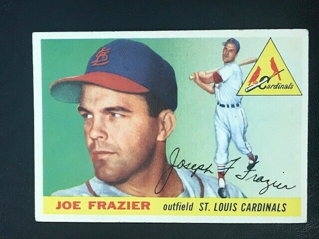 Primary image for 1955 Topps Baseball Card #89 JOE FRAZIER -CARDINALS