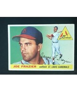 1955 Topps Baseball Card #89 JOE FRAZIER -CARDINALS - $4.90