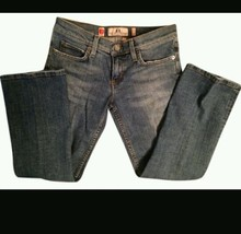 Juicy Couture Capri's / Cropped Women's Denim Blue Jeans sz 24  NWT skin... - $21.97