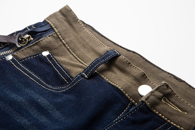 New Youth Fashion Comfortable Men's Casual Loose Jeans Pants Straight Simple Men image 8