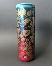 Starbucks Rose Blue Pink Insulated Stainless Steel Ombre Tumbler 16 Ounc... - $39.00
