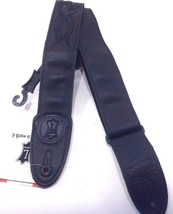 Levy's Leathers MSS7GPE-006 Garment Leather Guitar Strap - Black - $49.45