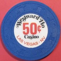 $.50 Casino Chip, Westward Ho, Las Vegas, NV. V10. - $4.25