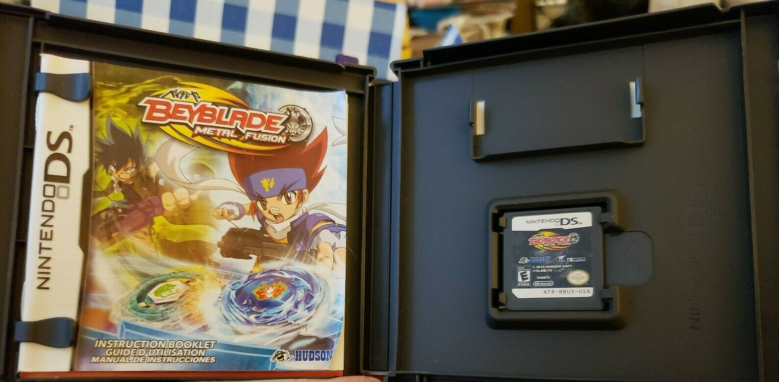 Primary image for Beyblade Metal Fusion Nintendo DS comes w/ case &  manual booklet