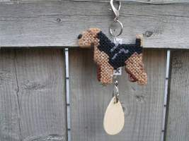 Welsh Terrier dog crate tag or home decor, hang it anywhere, handmade by... - $17.00