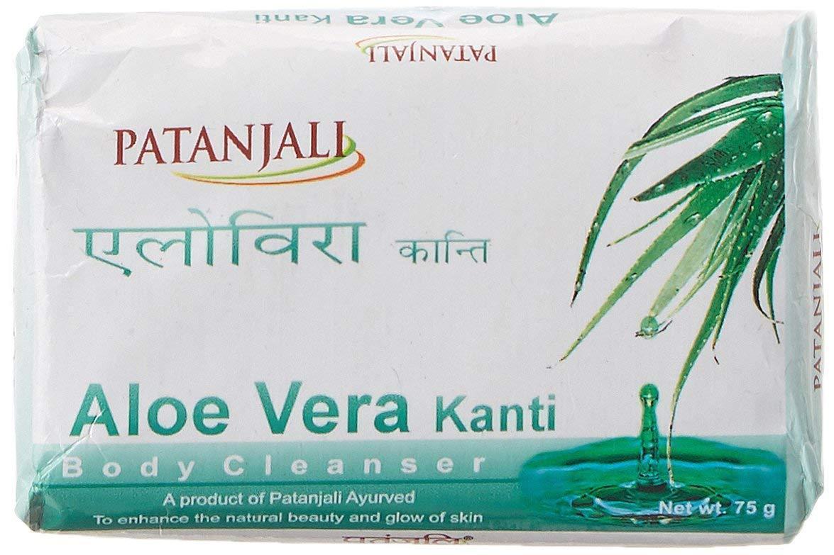 Health & Beauty Bar Soaps 5 Pcs Original Patanjali Soap Kanti Neem-75gm For Glowing Skin Free Shipping