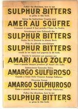 Dr Kaufman's Sulphus Bitters antique advertising booklet patent medicine... - $72.00