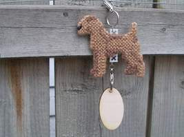Irish Terrier dog crate tag or home decor, hang it anywhere, handmade by... - $17.00